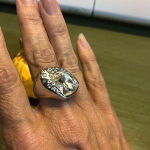 Swarovski large crystal ring